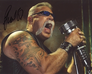Paul Teutul, Sr. Signed 8x10 Photo - Video Proof