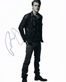 Paul Wesley Signed 8x10 Photo - Video Proof