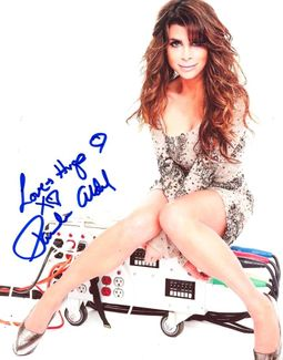 Paula Abdul Signed 8x10 Photo