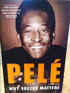 Pele Signed Book