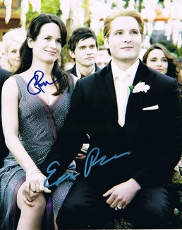 Peter Facinelli & Elizabeth Reaser Signed 8x10 Photo - Video Proof