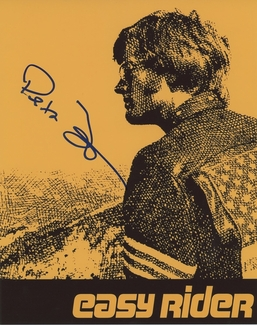 Peter Fonda Signed 8x10 Photo