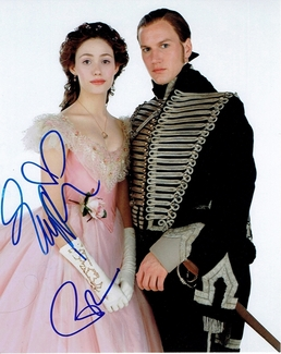 Emmy Rossum & Patrick Wilson Signed 8x10 Photo - Video Proof