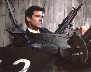 Pierce Brosnan Signed 8x10 Photo