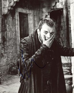 Pilou Asbaek Signed 8x10 Photo - Video Proof