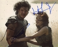 Kit Harington & Emily Browning Signed 8x10 Photo - Video Proof