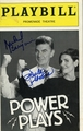 Richard Benjamin & Paula Prentiss Signed Playbill