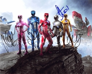 Power Rangers Signed 8x10 Photo