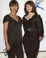 Olga Kurylenko & Gemma Arterton Signed 8x10 Photo