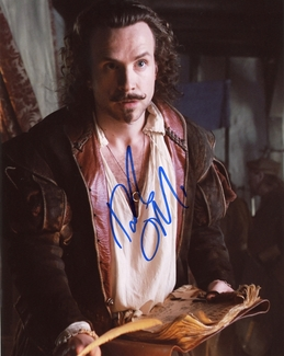 Rafe Spall Signed 8x10 Photo