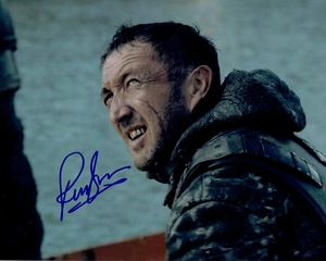 Ralph Ineson Signed 8x10 Photo - Video Proof