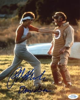 Ralph Macchio Signed 8x10 Photo - Proof