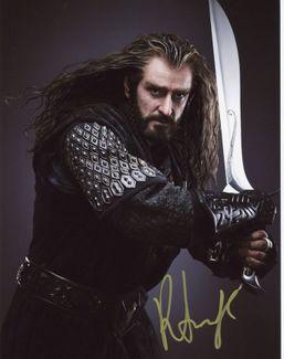 Richard Armitage Signed 8x10 Photo - Video Proof