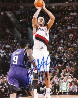 Rasheed Wallace Signed 8x10 Photo