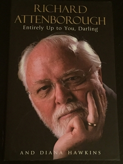 Richard Attenborough Signed Book