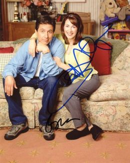 Ray Romano & Patricia Heaton Signed 8x10 Photo