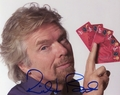 Richard Branson Signed 8x10 Photo