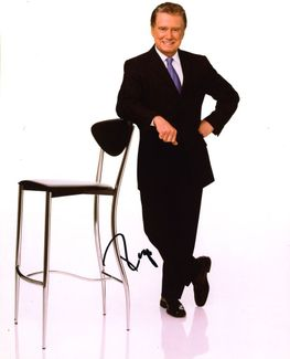 Regis Philbin Signed 8x10 Photo