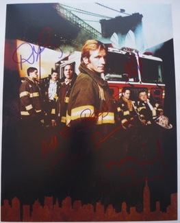 Rescue Me Signed 11x14 Photo