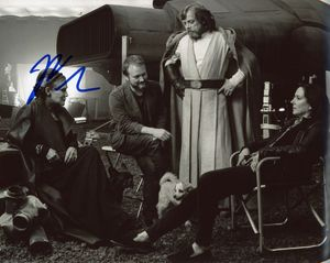 Rian Johnson Signed 8x10 Photo - Video Proof