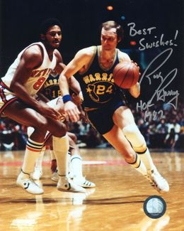 Rick Barry Signed 8x10 Photo