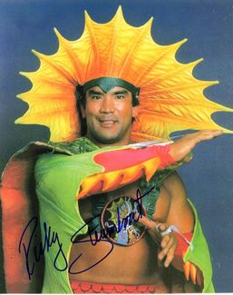 Ricky Steamboat Signed 8x10 Photo - Video Proof