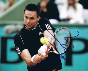 Robin Soderling Signed 8x10 Photo - Video Proof