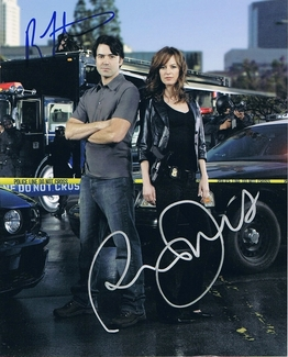 Ron Livingston & Rosemarie DeWitt Signed 8x10 Photo - Video Proof