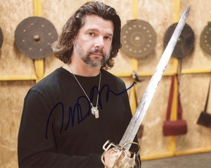 Ronald D. Moore Signed 8x10 Photo - Video Proof