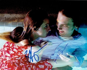 Zoe Kazan & Paul Dano Signed 8x10 Photo