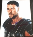 Russell Crowe Signed 11x14 Photo - Video Proof