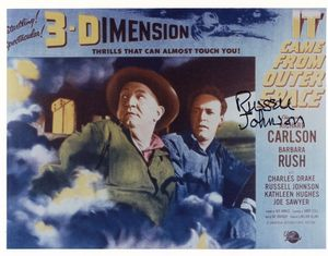 Russell Johnson Signed 8x10 Photo