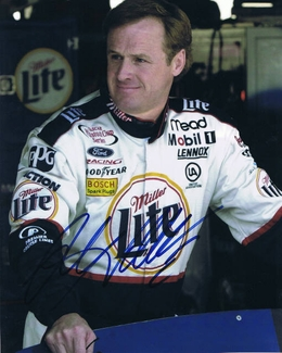 Rusty Wallace Signed 8x10 Photo - Video Proof