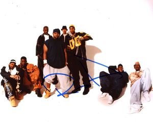 Rza Signed 8x10 Photo