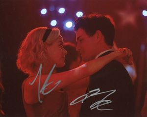 Kiernan Shipka & Gavin Leatherwood Signed 8x10 Photo - Video Proof