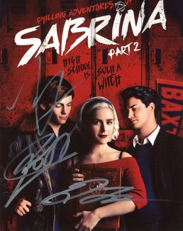 Chilling Adventures of Sabrina Signed 8x10 Photo - Video Proof