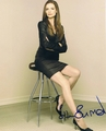 Saffron Burrows Signed 8x10 Photo - Video Proof