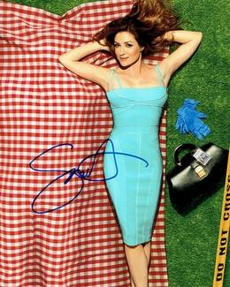 Sasha Alexander Signed 8x10 Photo