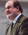 Salman Rushdie Signed 8x10 Photo - Video Proof
