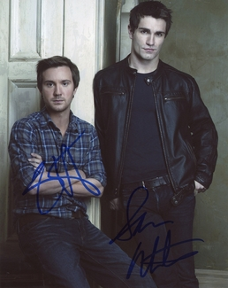 Sam Witwer & Sam Huntington Signed 8x10 Photo - Video Proof