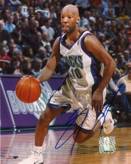 Sam Cassell Signed 8x10 Photo