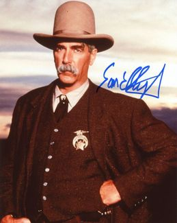 Sam Elliott Signed 8x10 Photo - Video Proof