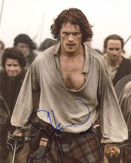 Sam Heughan Signed 8x10 Photo