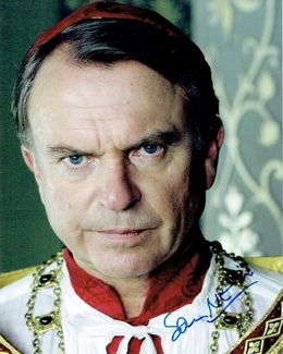 Sam Neill Signed 8x10 Photo - Proof