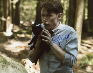 Samuel Barnett Signed 8x10 Photo - Video Proof