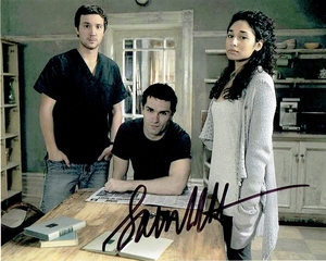Sam Witwer Signed 8x10 Photo