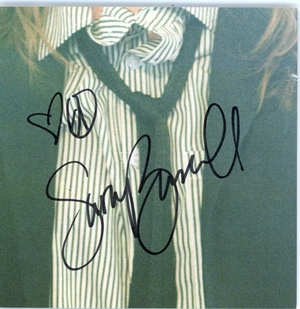 Sara Bareilles Signed CD Booklet
