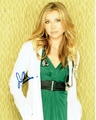 Sarah Chalke Signed 8x10 Photo - Video Proof