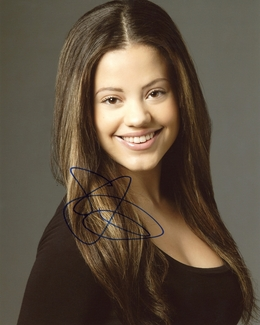 Sarah Jeffery Signed 8x10 Photo