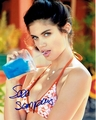 Sara Sampaio Signed 8x10 Photo